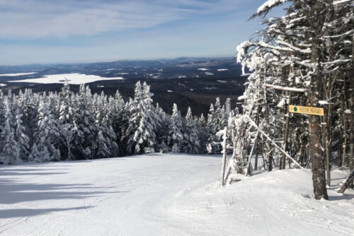 Two Maine Mountains: Skiing Sugarloaf and Saddleback