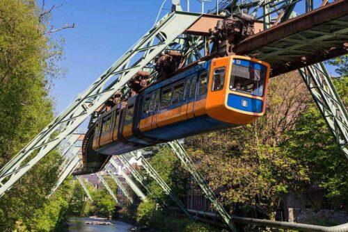 The Schwebebahn: Riding an Upside Down Train