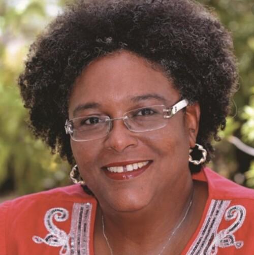 Prime Minister Mia Mottley of Barbados.