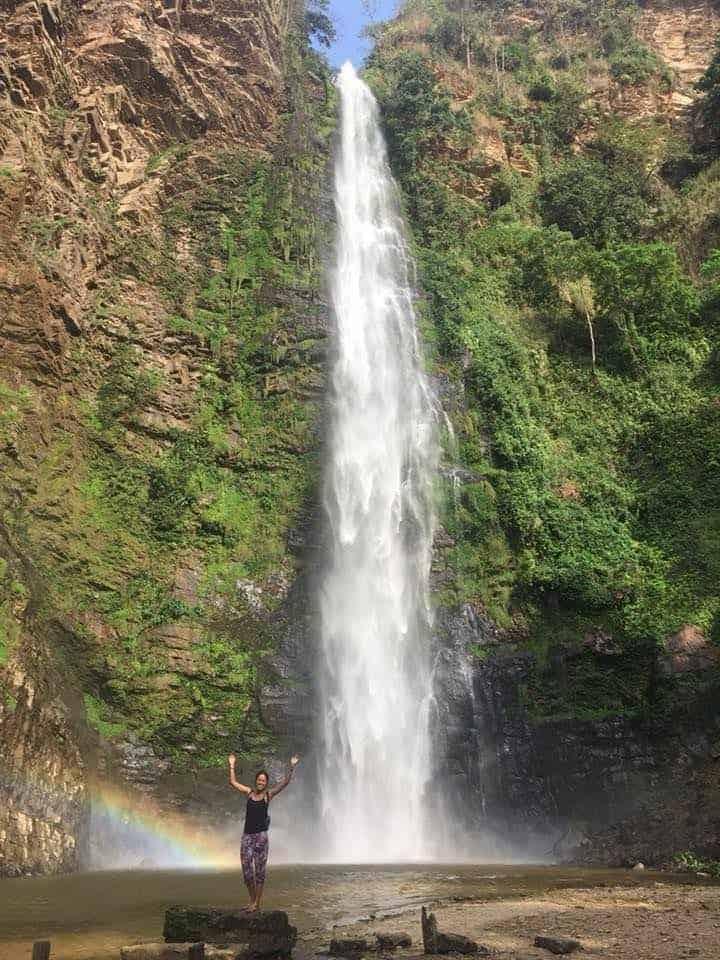 Wli Falls in Volta Ho Ghana