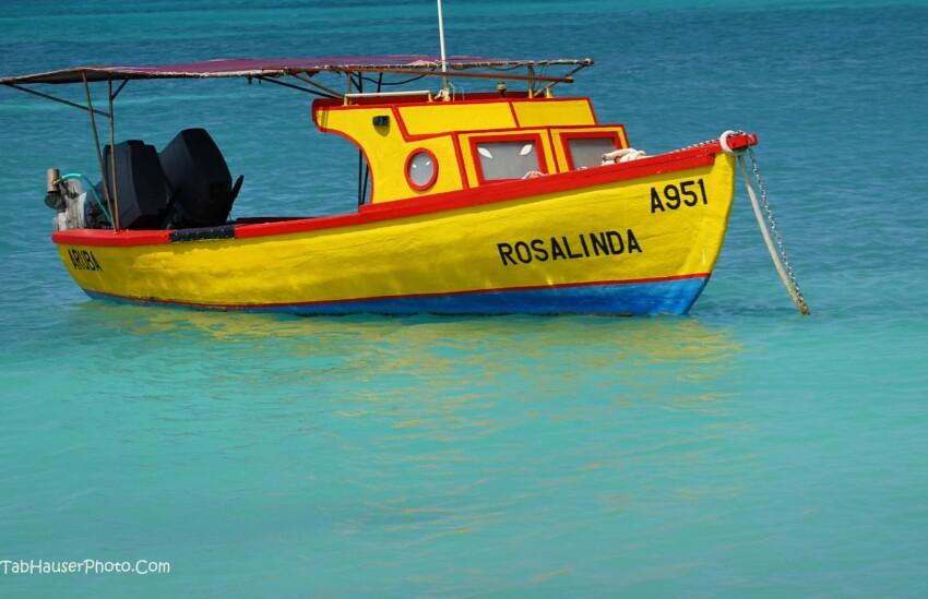 Aruba fishing boat