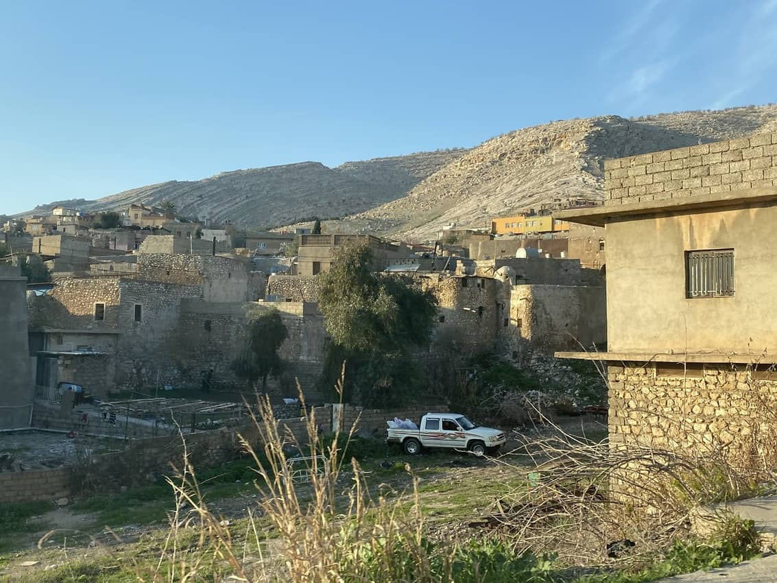 The town of Alqosh has several historic old homes still standing.