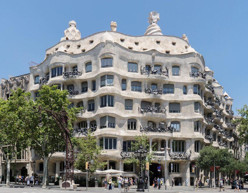 Casa Mila in Barcelona. Thomas Ledl photo.