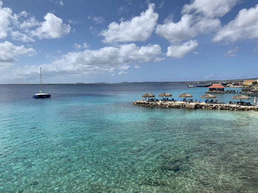 Bonaire's tranquil waters.