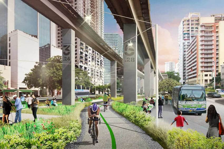 The Underline: Miami's Park Below the Metrorail