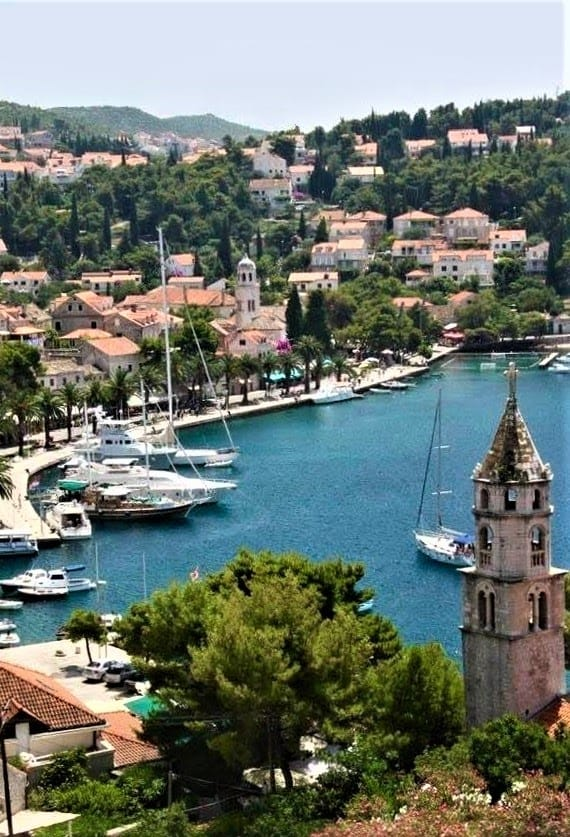 Church of St Nicholas on the Cavtat Waterfront
