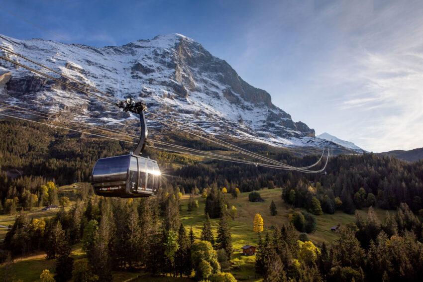 Eiger Express Grindelwald © Jungfraubahnen 2019