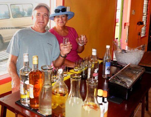 Antigua Rum Punch Quin Farara