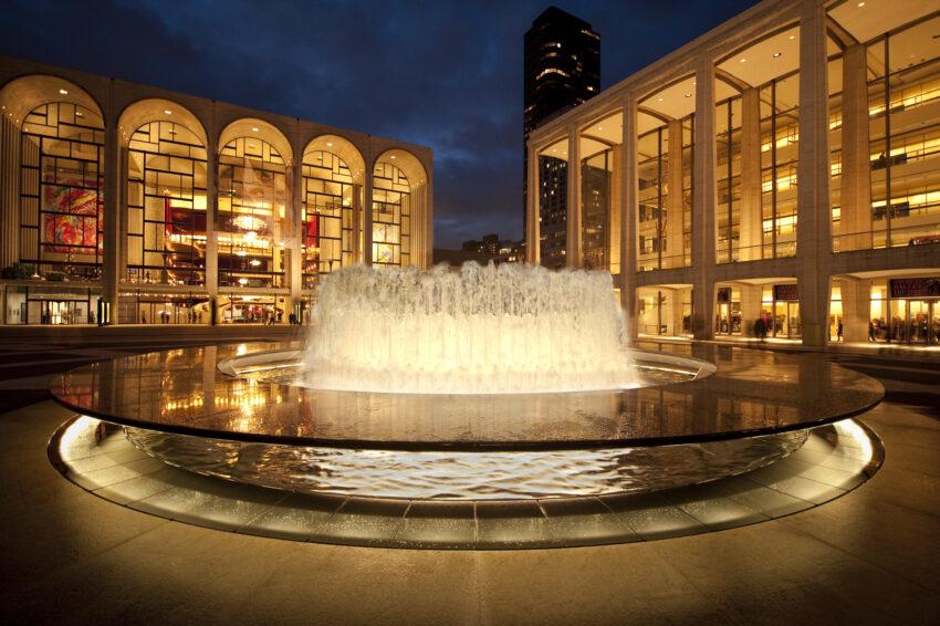 Revson Fountain at Lincoln Center. Jon Ortner Photos.