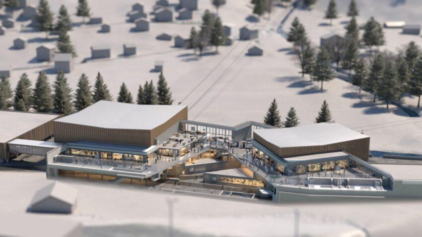 Grindelwald Terminal Visual © Jungfraubahnen 2019