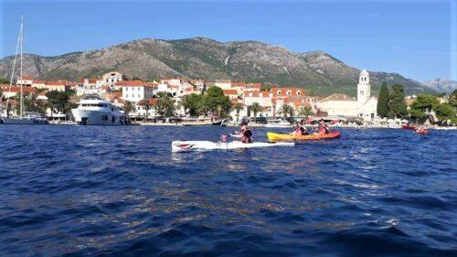 Kayaking in Cavtat
