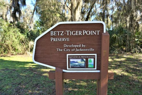 At Betz-Tiger Point visitors will find the Edwards Creek Day-Use Area, complete with a fishing platform, kayak launch and picnic area. Nancy Moreland photo.