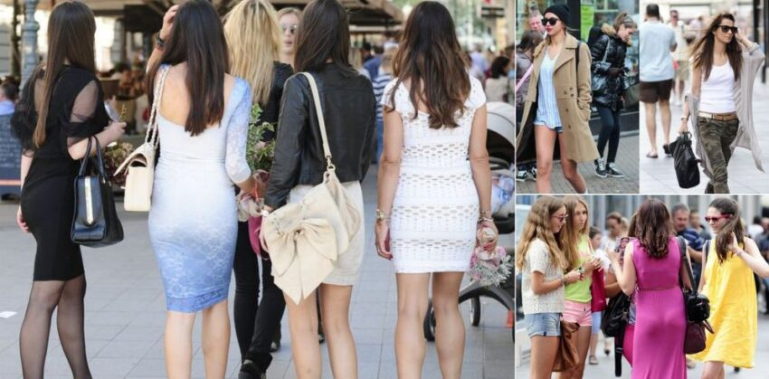 Spica in Zagreb, a tradition to show off your best fashion looks. CroatiaWeek.com photo.