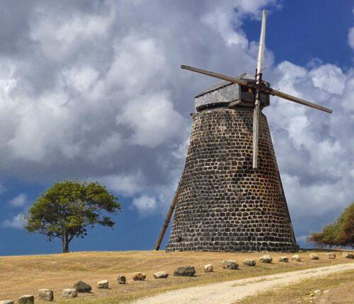 Betty's Hope Windmill Antigua