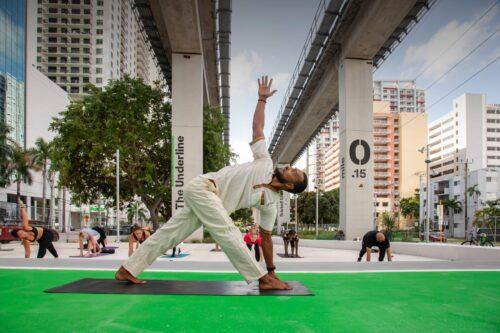Yoga in Miami Underline