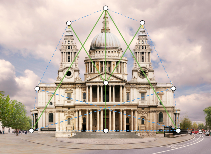 St Paul's Cathedral in London, and the Golden Ratio.