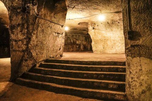 part of the 120 miles underground