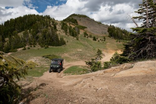ATV rentals available in Cooke City are great for exploring old mining roads and ruins.