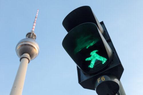 Traffic Light. © visitBerlin, Photo: Pierre Adenis