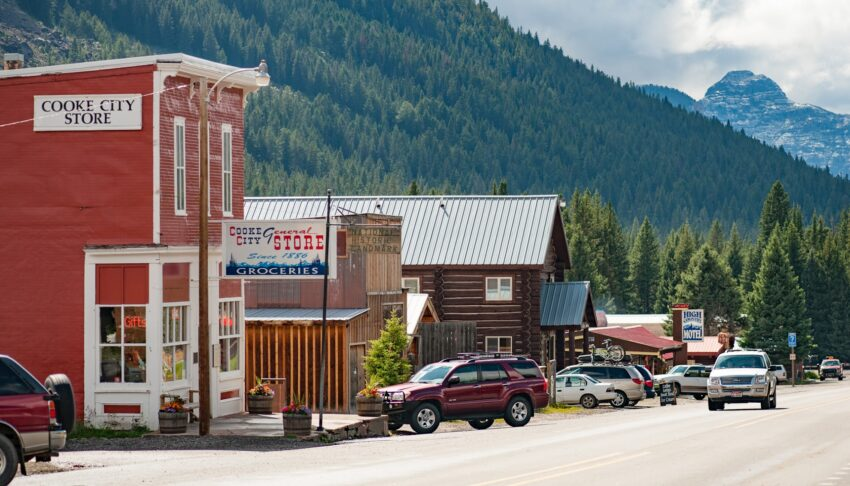 Cooke City owes its beginnings to gold discovered in the area back in the late 1800s, followed by an influx of miners seeking their fortunes.