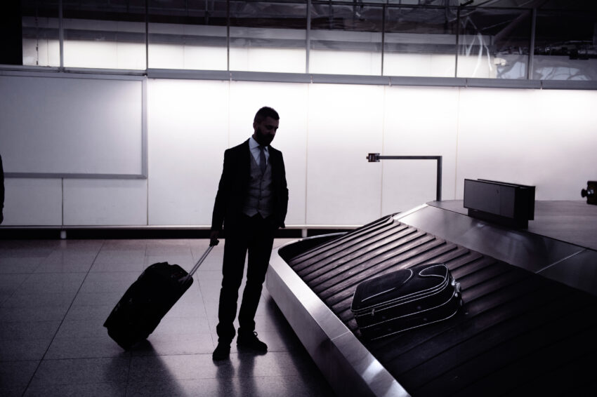 Disappointed Businessman That Missed His Meeting Because He Didn't Book Grab My Bag Inc. Grab My Bag Photos.