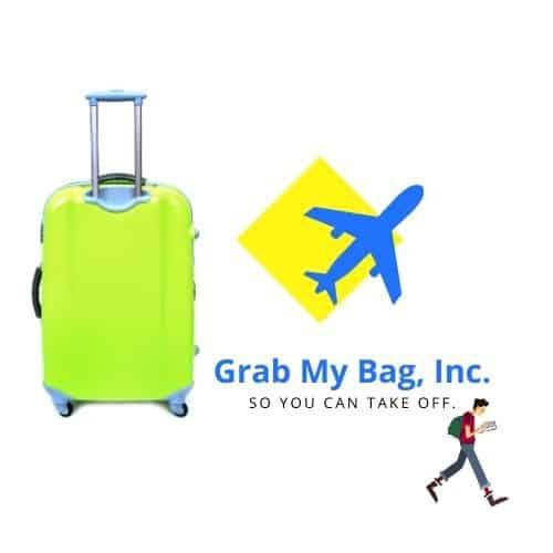Grab My Bag Inc Logo. Grab My Bag Photos.