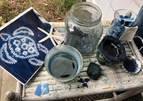 Learning More about the Process of Indigo Dying at Daufuskie Blues