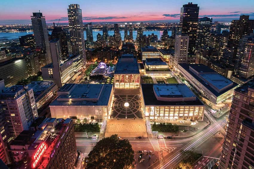 Lincoln Center Plans Stunning Outdoor Performance Areas