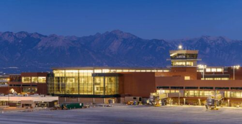 Salt Lake City Airport exterior