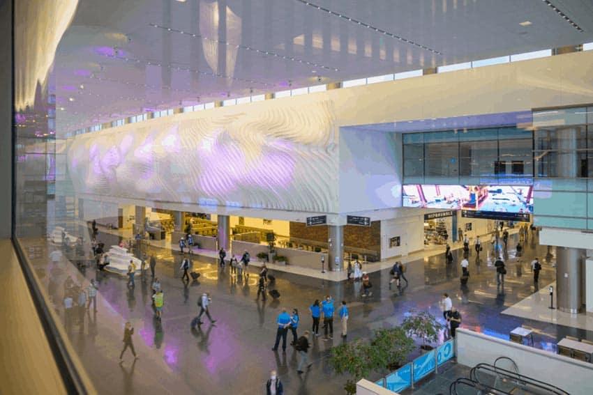 Salt Lake City Airport terminal