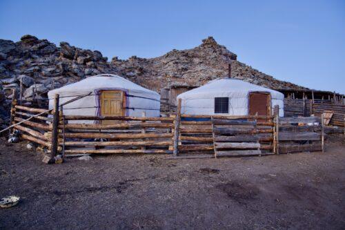 Two Yurts