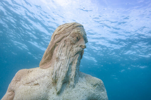 """""""Poseidon"""" by Christophe Charbonnel. Guillaume Ruoppolo Photos."""