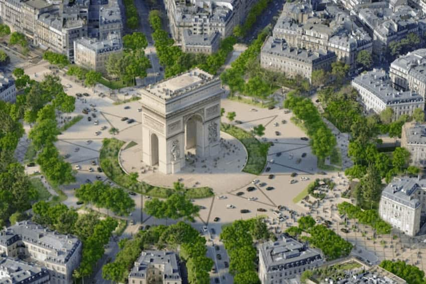 The Champs-Elysees to Become an Extraordinary Garden