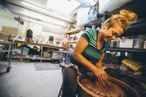 Clay Studio. Photo By N Santos for VISIT PHILADELPHIA™