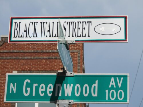 Greenwood Avenue and Archer Street dubbed Deep Greenwood was the heart of the community Photo by Beth Reiber