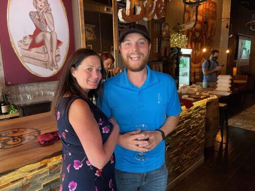 Realtor Katie McAteer and her partner William Labbancz: Big fans of New Port Richie.