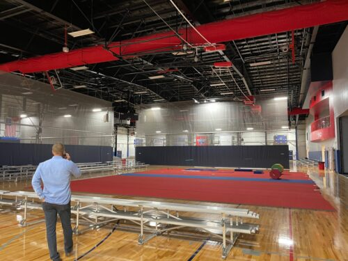Advent Health Systems Arena provides a multitude of sports courts for all ages in the Sports Coast.