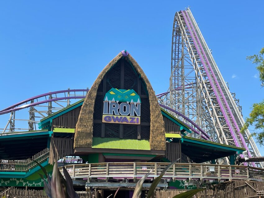 Iron Gwazi will be the fastest and steepest ride when it opens later this year at Busch Gardens Tampa Bay.