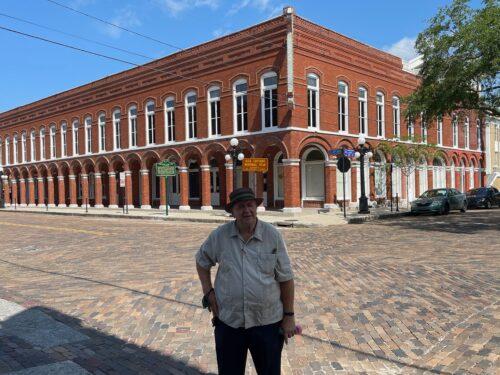 Steve Stamberger in Ybor City.