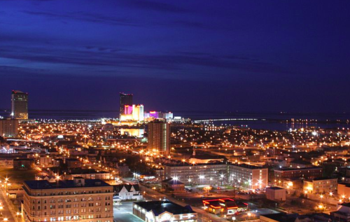 Atlantic City, New Jersey by night. Ron Miguel photo.