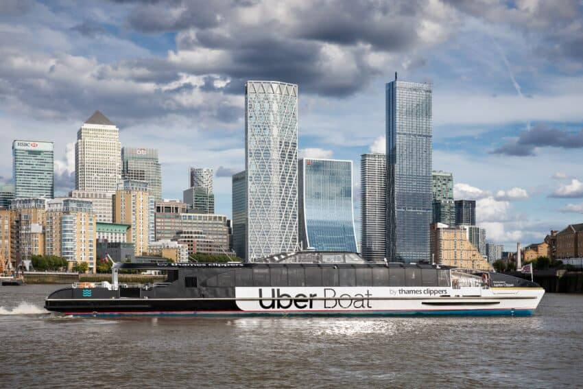 Uber Boat by Thames Clipper: Spectacular London Rides