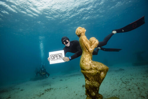 The Underwater Museum of Marseille. Guillaume Ruoppolo Photos.