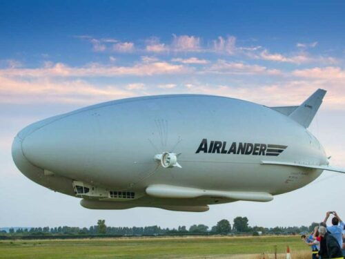 The Airlander 10 in all its glory
