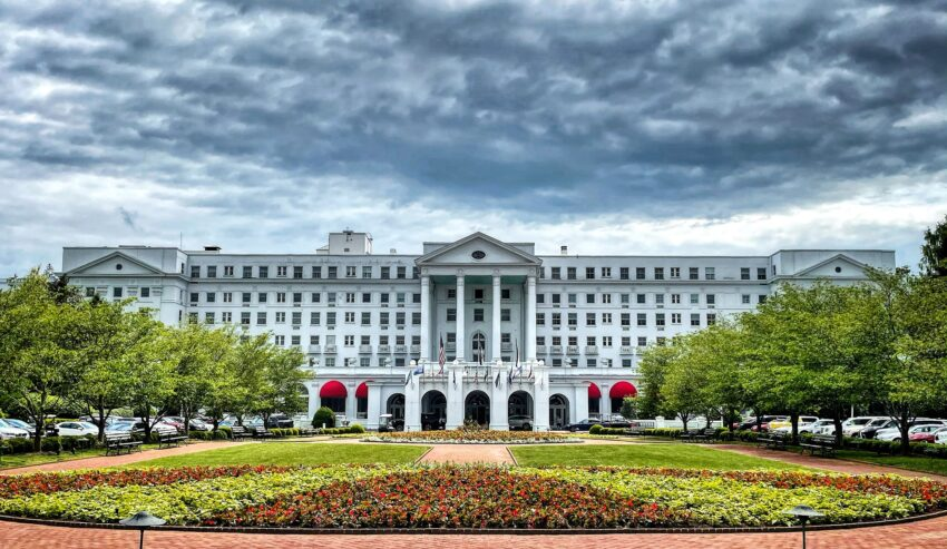 The Greenbrier Resort has maintained its elegant image.