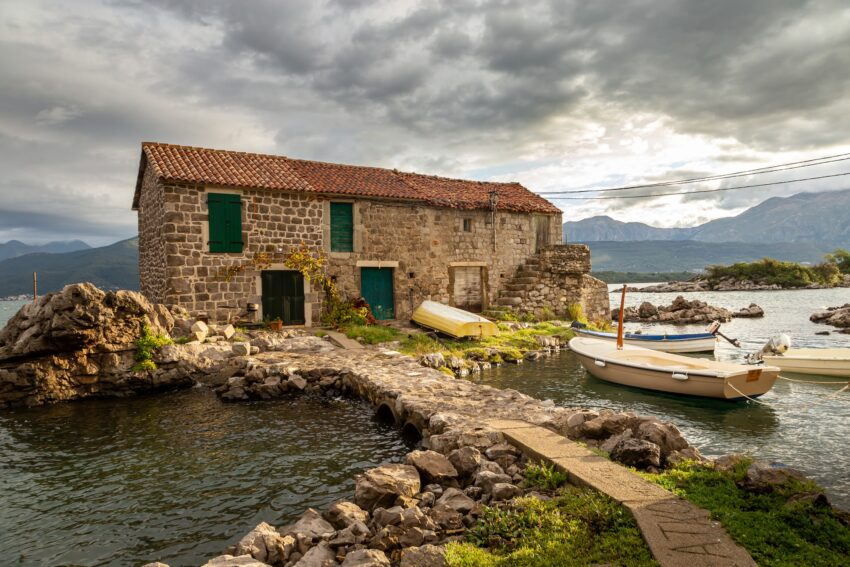 The coastal village of Bjelila is a must-see for visitors looking for an authentic local atmosphere