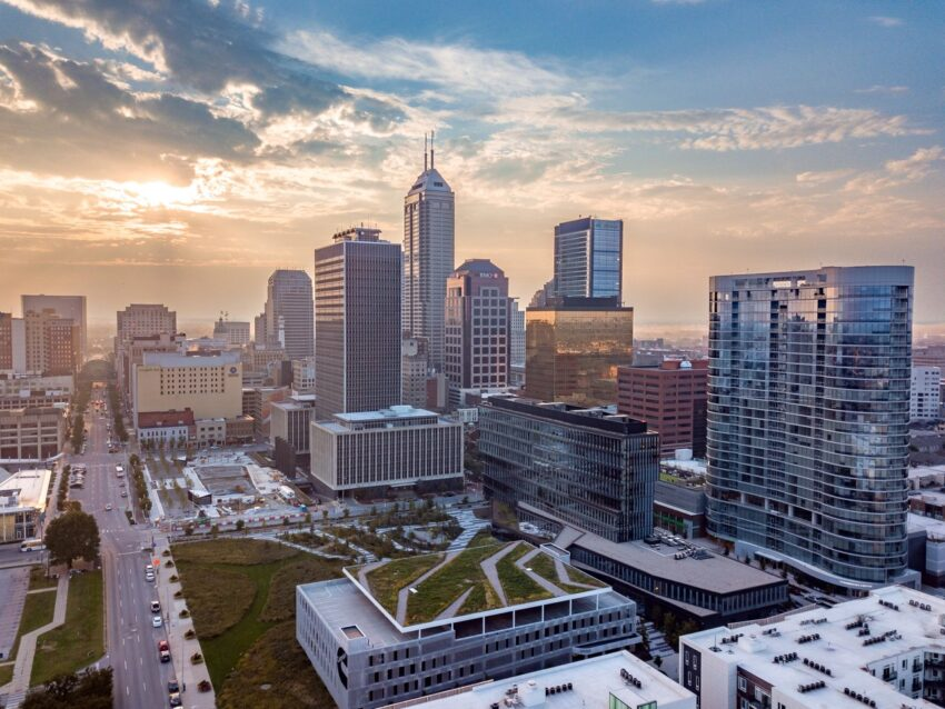 Indianapolis' Market East District. Visit Indy photo.