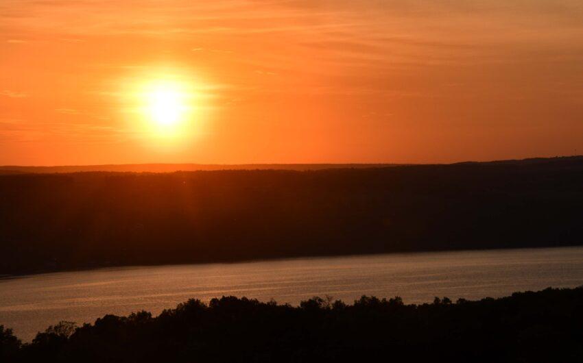 Finger Lakes sunset