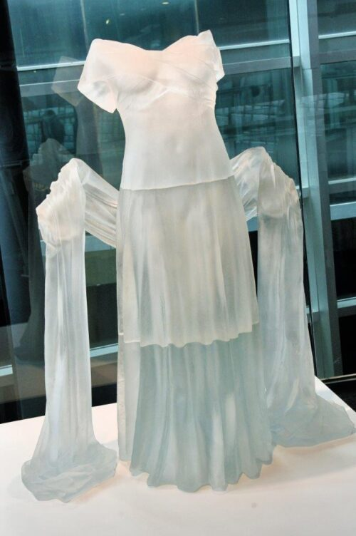 corning glass gown
