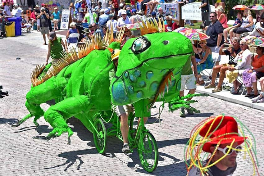 frog in the parade