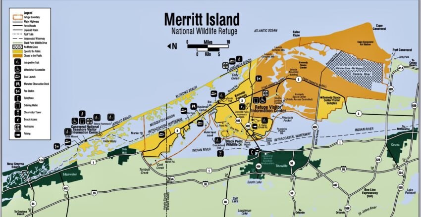 merrit island map